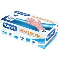 Luva Vinil c/ pó P Bomback