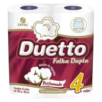 Papel Higiênico FD Duetto Perfumado 30M