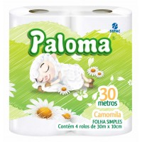 Papel Higiênico Paloma 30M Camomila