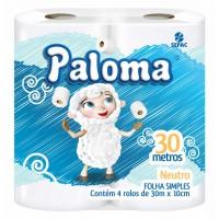 Papel Higiênico Paloma 30M Neutro