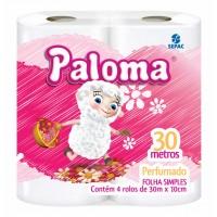 Papel Higiênico Paloma 30M Perfumado